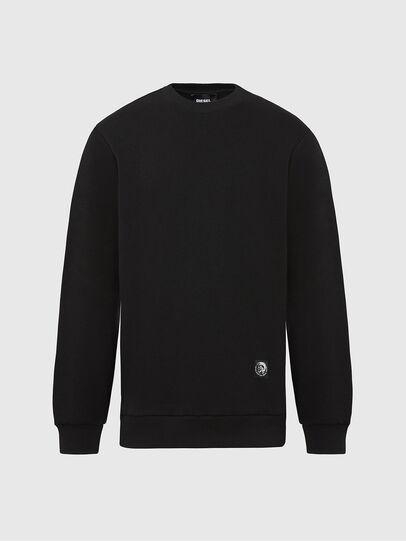 Diesel - S-GIRK-MOHI, Black - Sweatshirts - Image 1
