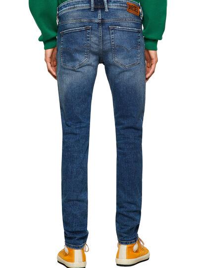 Diesel - Sleenker Skinny Jeans 009PN, Medium Blue - Jeans - Image 2