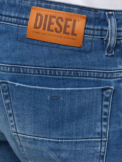 Diesel - Thommer Slim Jeans 009MB, Medium Blue - Jeans - Image 4