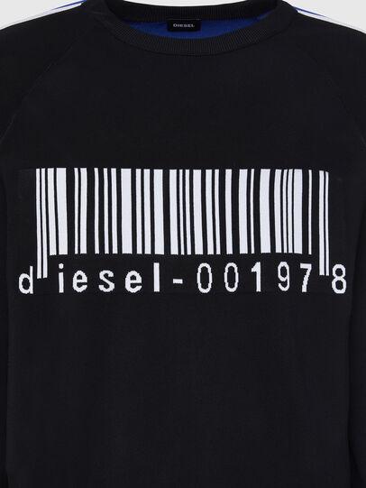 Diesel - K-RUSH, Black - Sweaters - Image 3
