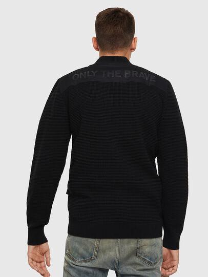 Diesel - K-PROXTER, Black - Sweaters - Image 2