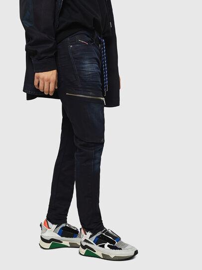 Diesel - S-BRENTHA DEC, Multicolor/Black - Sneakers - Image 5