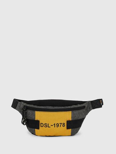 Diesel - FELTRE, Black/Yellow - Belt bags - Image 1