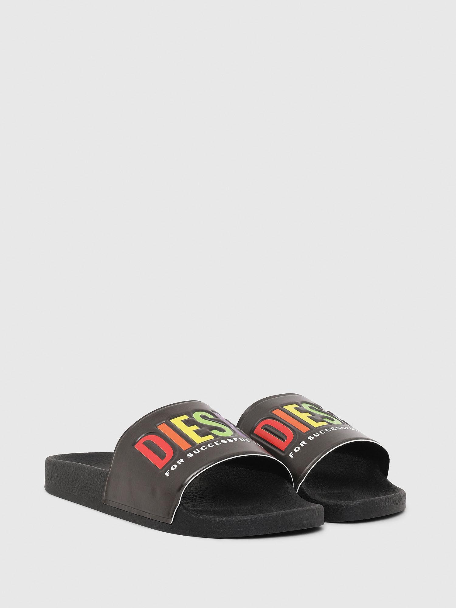 Diesel Womens Slide Sandal