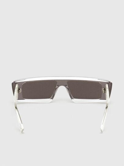 Diesel - DL0318, White - Sunglasses - Image 4