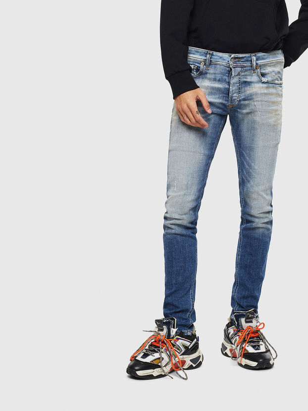 Sleenker 009AF, Medium Blue - Jeans