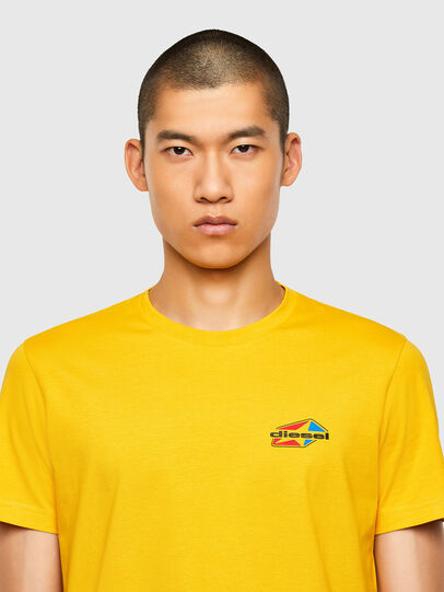 Diesel - T-DIEGOS-K36, Yellow - T-Shirts - Image 3