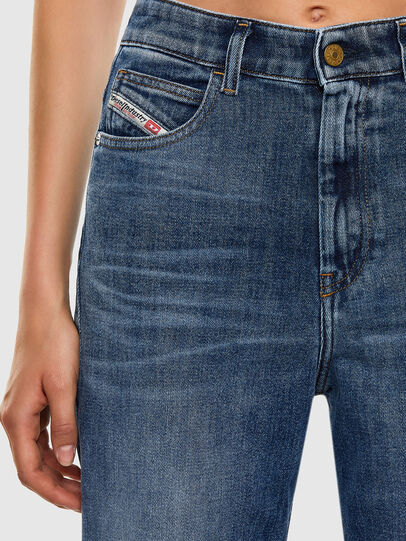 Diesel - D-Eiselle 0098W, Medium Blue - Jeans - Image 4