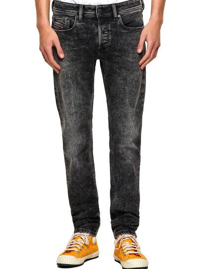 Diesel - Sleenker Skinny Jeans 09A17, Black/Dark Grey - Jeans - Image 1