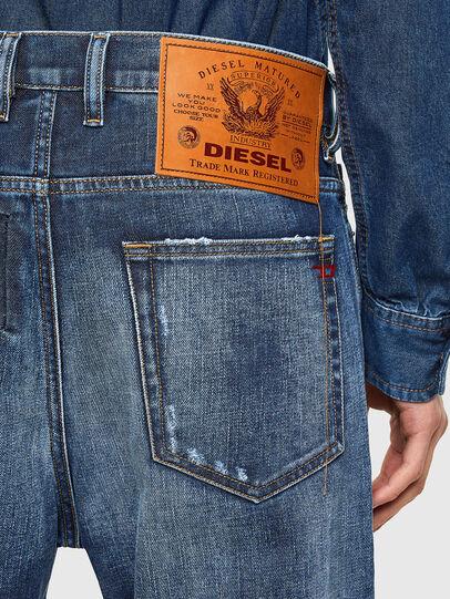 Diesel - D-Vider Carrot Jeans 009NJ, Medium Blue - Jeans - Image 4