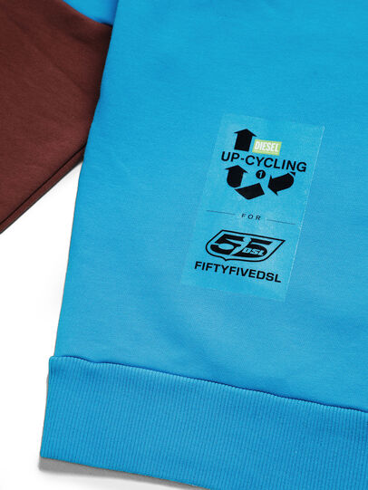 Diesel - D-TAGLIA&CUCI, Multicolor - Sweatshirts - Image 5