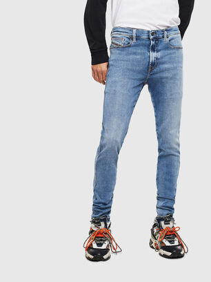 D-Istort 009BG, Medium Blue - Jeans