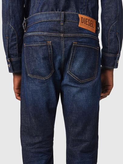 Diesel - D-Viker Straight Jeans 09A12, Dark Blue - Jeans - Image 4