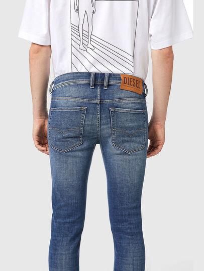 Diesel - Skinny Jeans 09A86, Light Blue - Jeans - Image 4