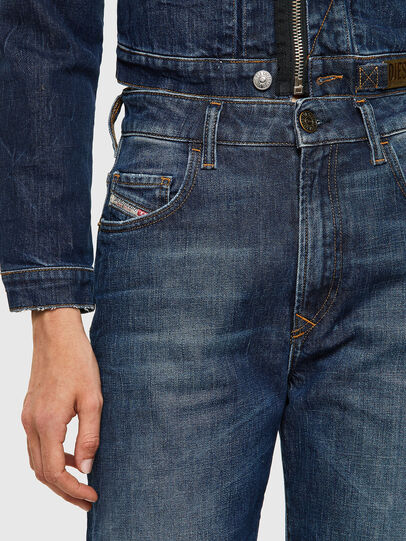 Diesel - D-Reggy Straight Jeans 09A06, Dark Blue - Jeans - Image 3