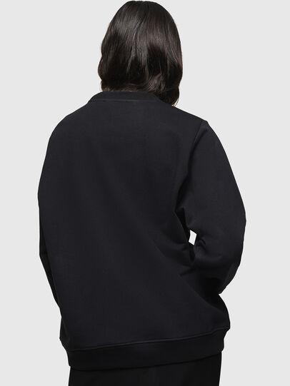 Diesel - F-ANG, Black - Sweatshirts - Image 2
