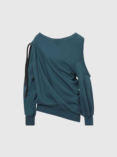 Diesel - F-REVERT, Water Green - Sweatshirts - Image 1