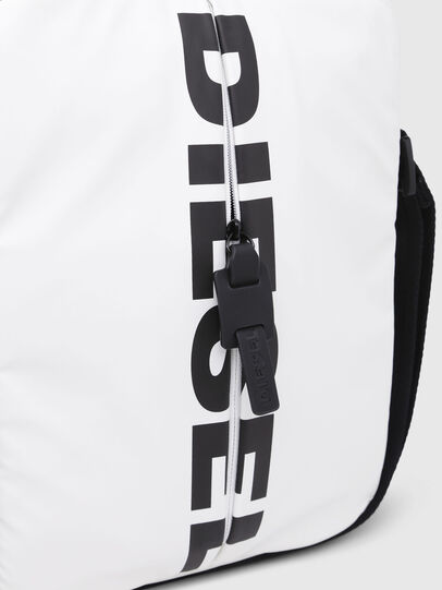 Diesel - F-BOLD SMALL CROSS, White - Crossbody Bags - Image 4