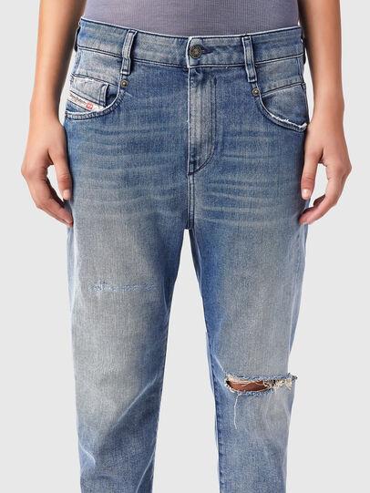 Diesel - Fayza Boyfriend Jeans 09B16, Light Blue - Jeans - Image 3