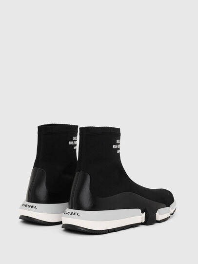 Diesel - H-PADOLA HIGH SOCK, Black - Sneakers - Image 3