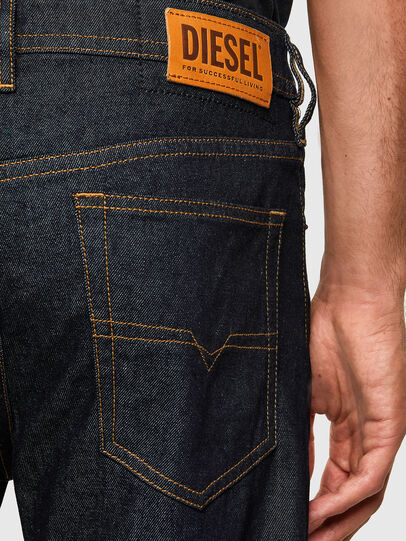 Diesel - Buster Tapered Jeans 009HF, Dark Blue - Jeans - Image 4