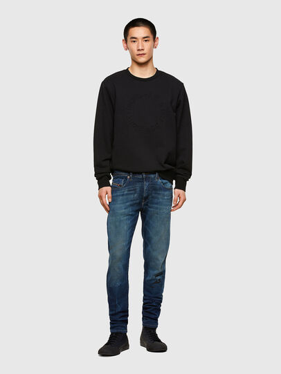 Diesel - D-Strukt JoggJeans® 069RU, Medium Blue - Jeans - Image 6
