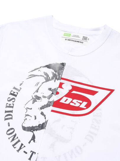Diesel - D-MESO&MESO, White - T-Shirts - Image 2