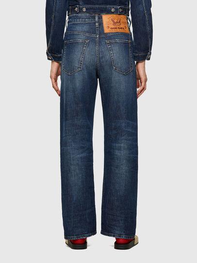Diesel - D-Reggy Straight Jeans 09A06, Dark Blue - Jeans - Image 2