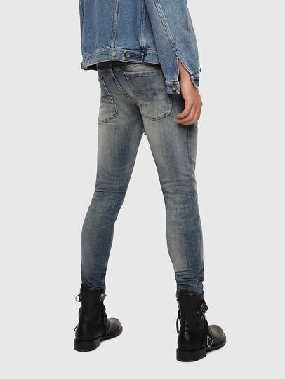 Diesel - Sleenker 069DK, Medium Blue - Jeans - Image 2