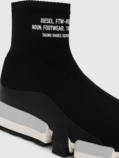 Diesel - H-PADOLA HIGH SOCK, Black - Sneakers - Image 5