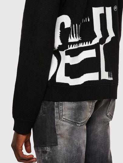Diesel - K-MARRA, Black - Sweaters - Image 4