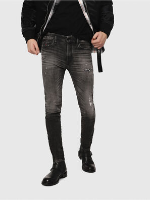 D-Reeft JoggJeans 0077S, Black/Dark Grey - Jeans