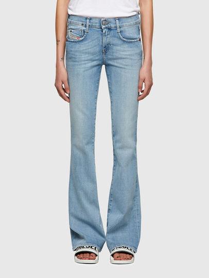 Diesel - D-Ebbey Bootcut Jeans 009TL, Light Blue - Jeans - Image 1