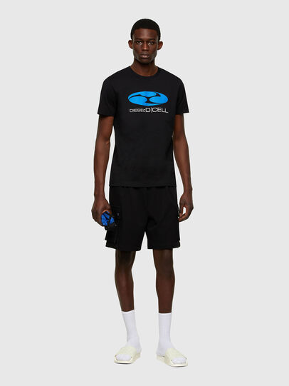 Diesel - P-PRONE, Black - Shorts - Image 4