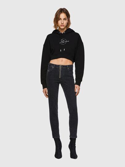 Diesel - Babhila Slim Jeans 09A67, Black/Dark Grey - Jeans - Image 5