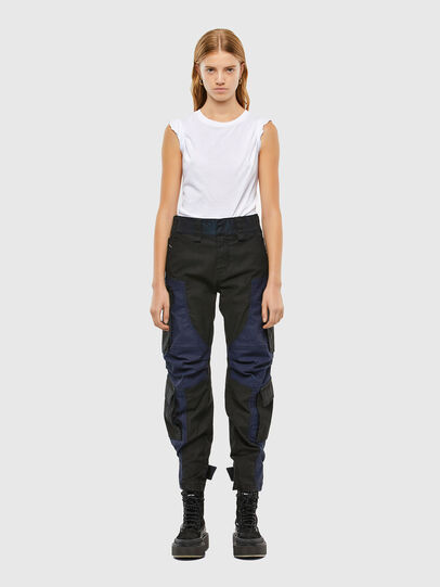 Diesel - D-Kiki JoggJeans® 009KM, Negro/Gris oscuro - Vaqueros - Image 7