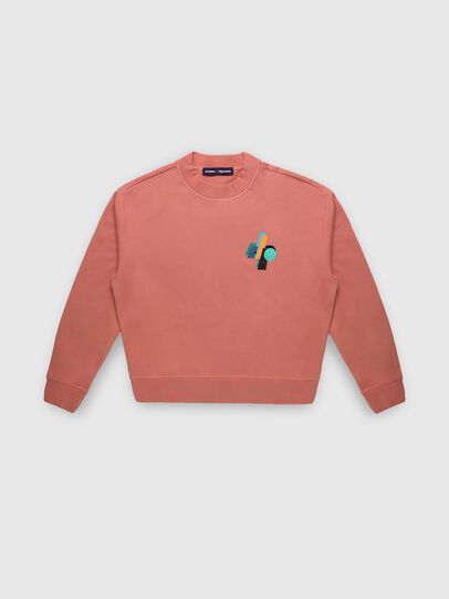 Diesel - PR-SW02, Pink - Sweatshirts - Image 1