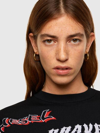 Diesel - M-MALI, Black - Sweaters - Image 3