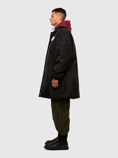Diesel - W-KODYN, Black - Winter Jackets - Image 5
