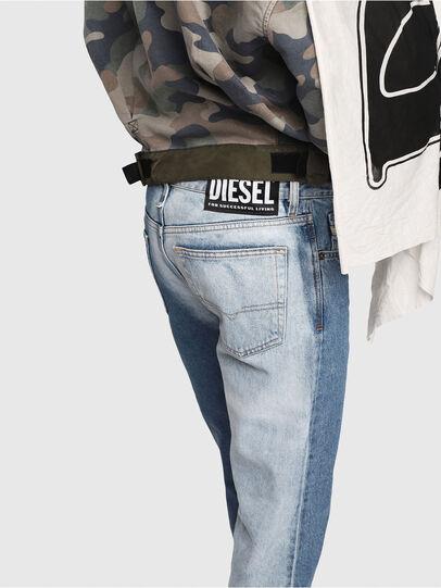 Diesel - Mharky 0077V, Medium Blue - Jeans - Image 3