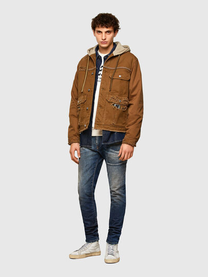 Diesel - J-BRUNO, Brown - Jackets - Image 6