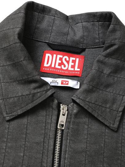Diesel - ACW-SH02, Black - Denim Shirts - Image 4