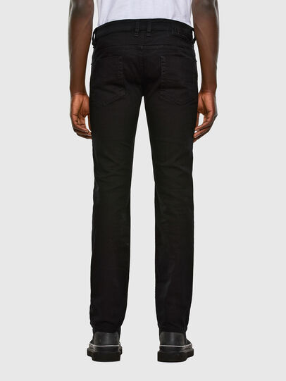 Diesel - Safado Straight Jeans 0688H, Black/Dark Grey - Jeans - Image 2