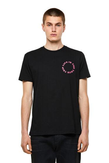 T-shirt with circular logo