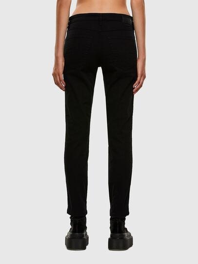 Diesel - Babhila Slim Jeans 069EI, Black/Dark Grey - Jeans - Image 2