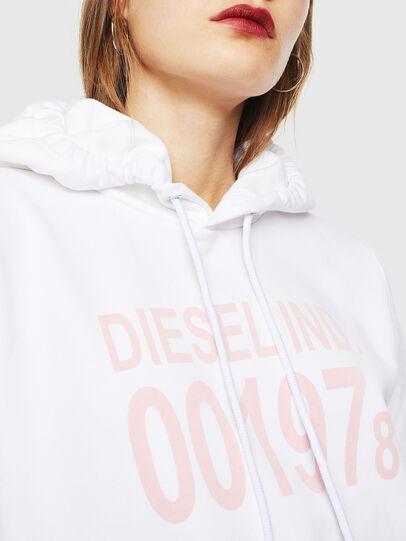 Diesel - F-ANG-HOOD-J1, White - Sweatshirts - Image 3