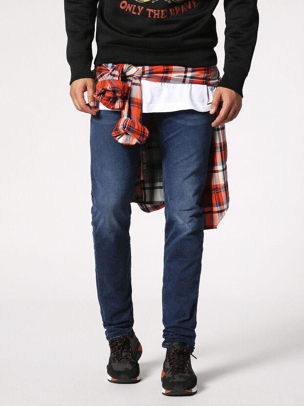 Buster 0675L, Dark Blue - Jeans
