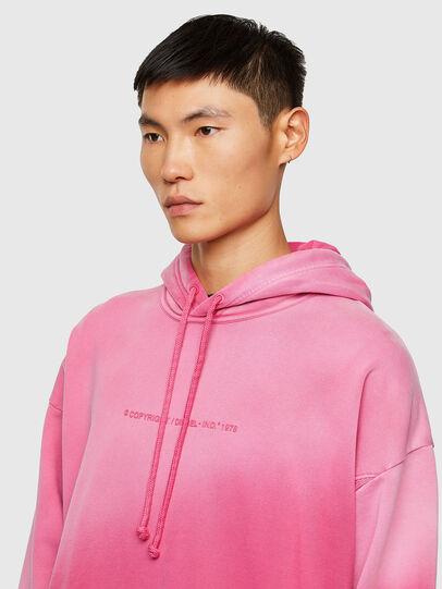 Diesel - S-UMMERIB-A81, Pink - Sweatshirts - Image 3
