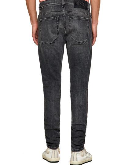 Diesel - D-Amny Skinny Jeans 09A18, Black/Dark Grey - Jeans - Image 2