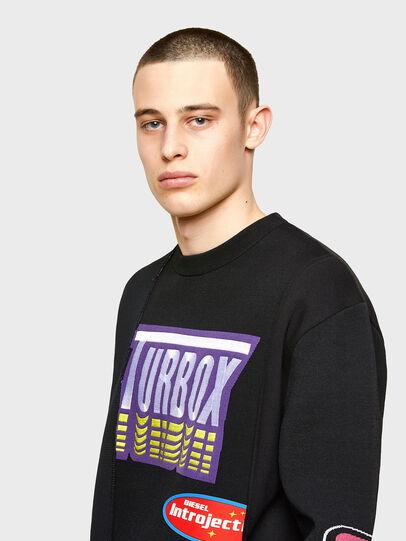 Diesel - K-JARGON, Black - Sweaters - Image 3